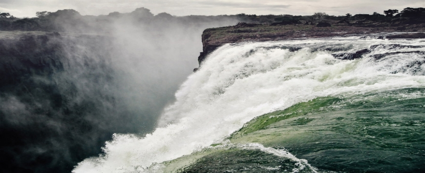 【ジンバブエ・ザンビア】ヴィクトリアの滝