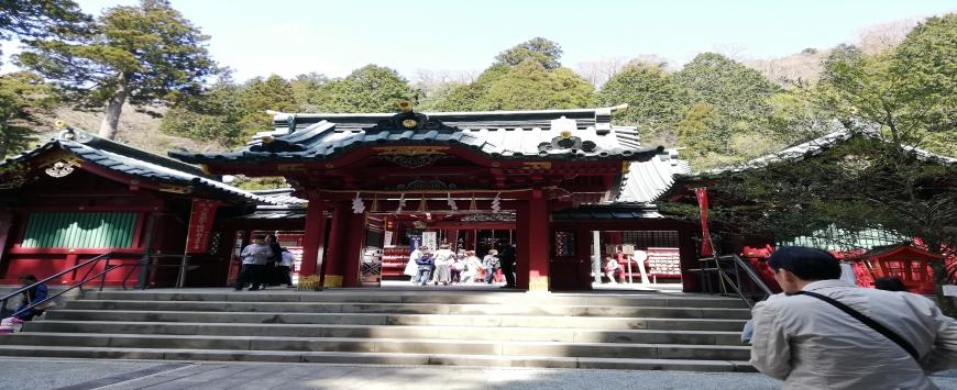 【神奈川】バイク旅 箱根神社他
