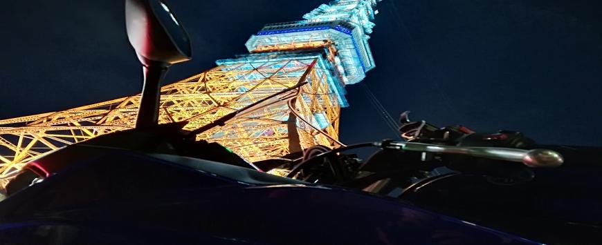 【東京都】バイク旅 東京タワー