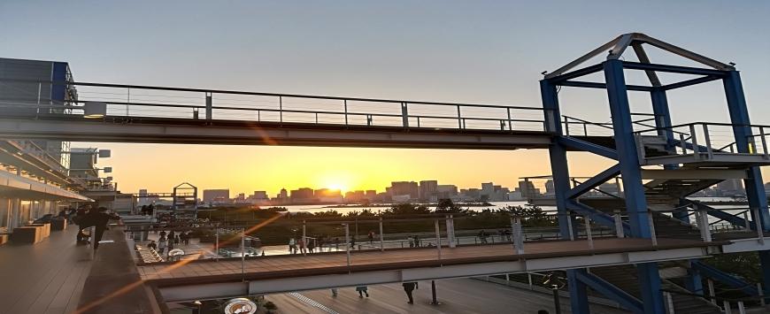 【東京】バイク旅 お台場&東京タワー
