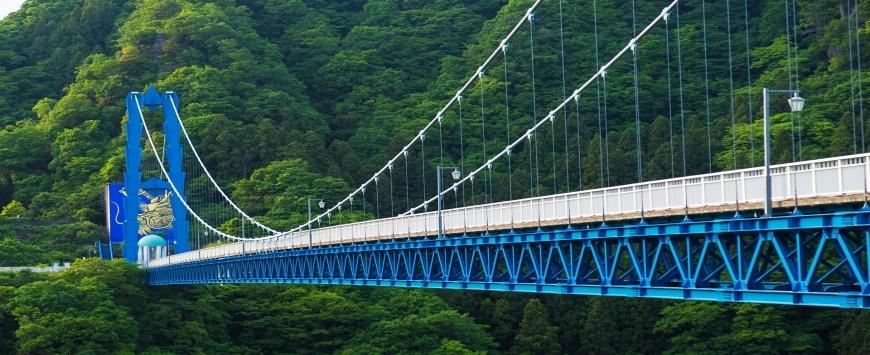 【茨城県】竜神大吊橋